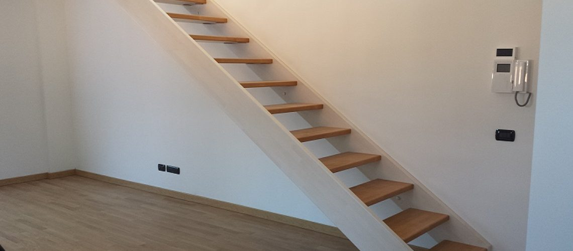 scale a giorno realizzate in alluminio